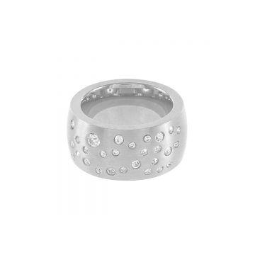 Sõrmus Max M hõbe/kristall