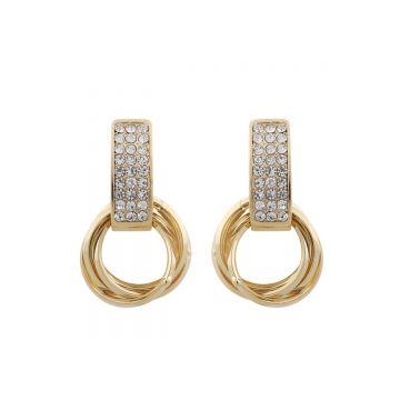 Kõrvarõngad Saint Tropez kuld/kristall